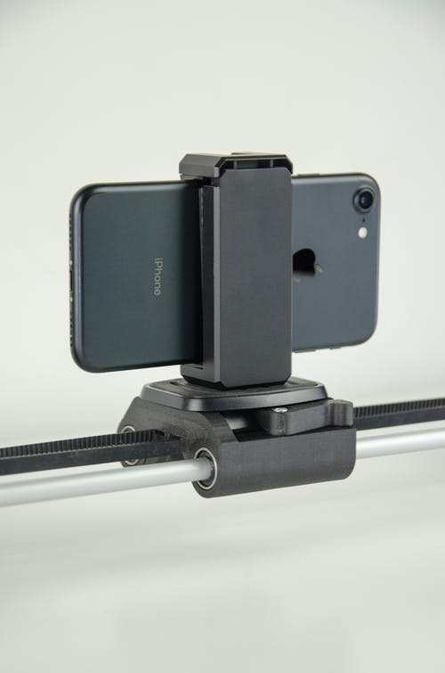 Black and Silver Samsung Camera