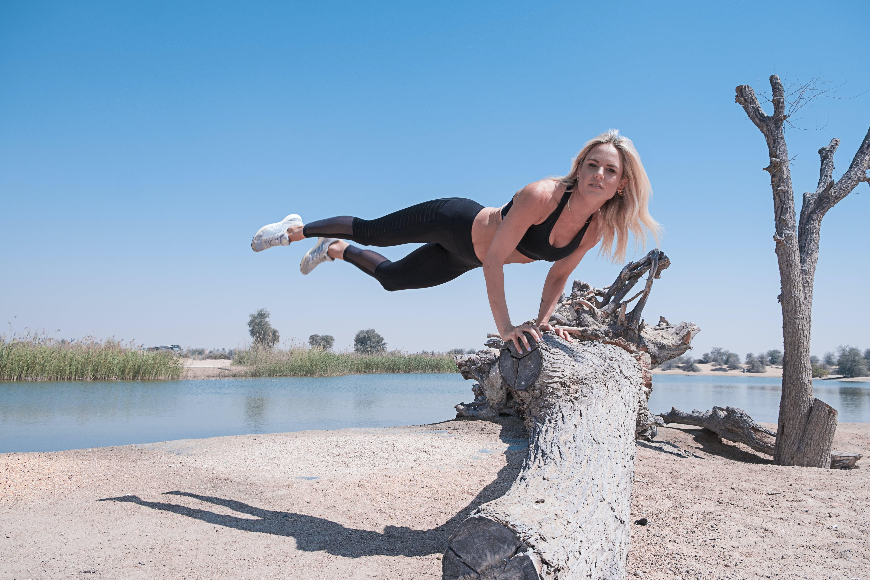 健身, 女人, 女孩, 平衡 的 免費圖庫相片