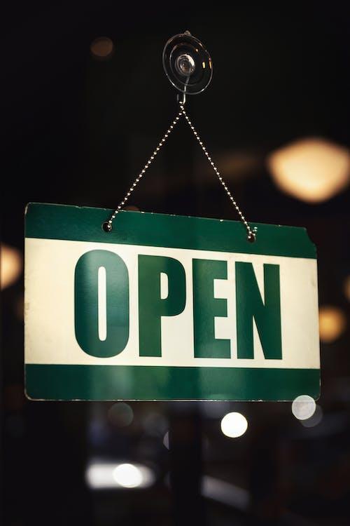 Immagine gratuita di aperto, appeso, aprire