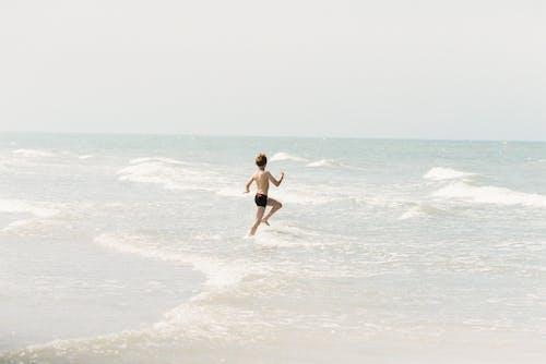 Foto profissional grátis de areia, criança, energia
