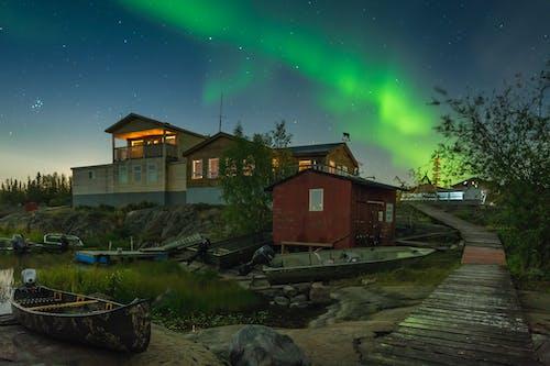 Бесплатное стоковое фото с Аврора, Астрономия, Астрофотография