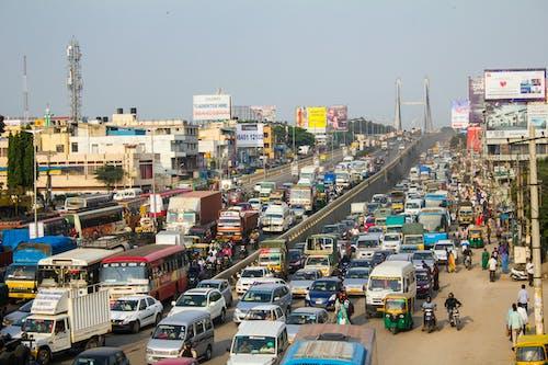 Free stock photo of bangalore, congestion, india