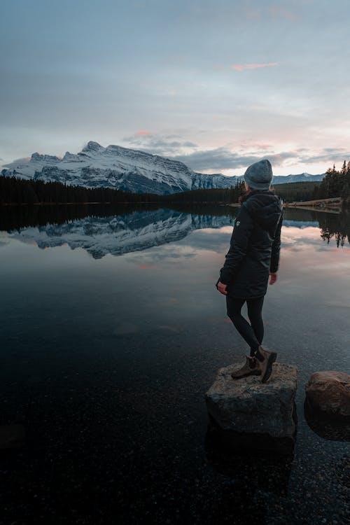 Základová fotografie zdarma na téma dobrodružství, dospělý, jezero