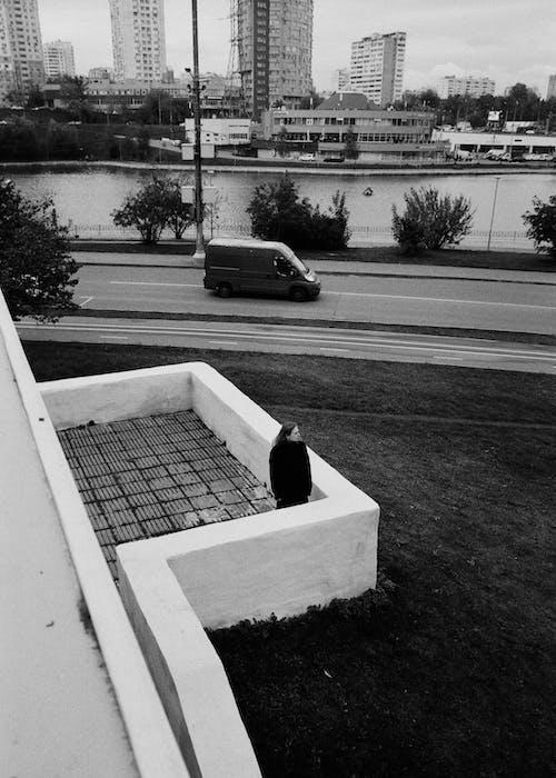 Безкоштовне стокове фото на тему «берег ріки, Будівля, високий кут зору»