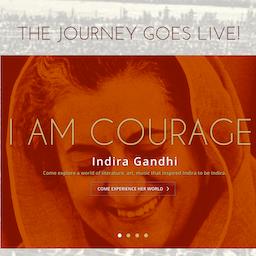 インディラガンジー インドの鉄の女の無料の写真素材