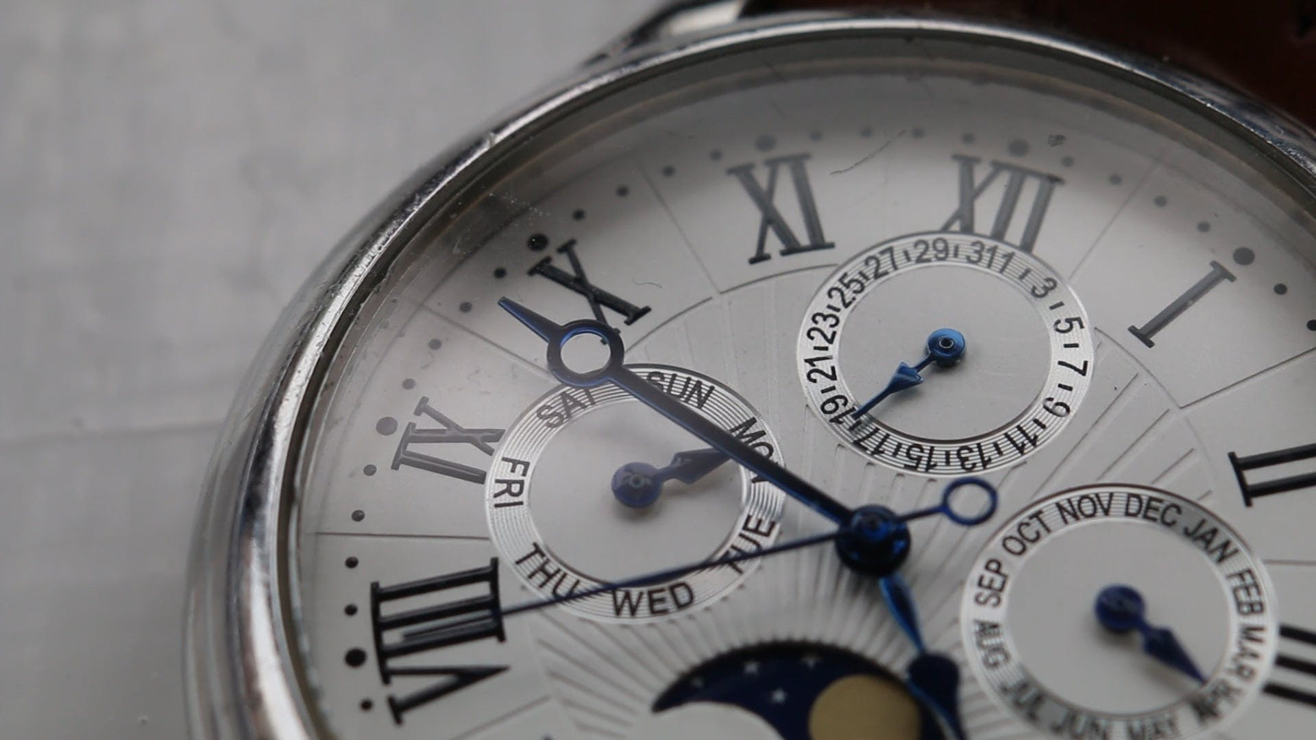 Close Up Video Of A Watch