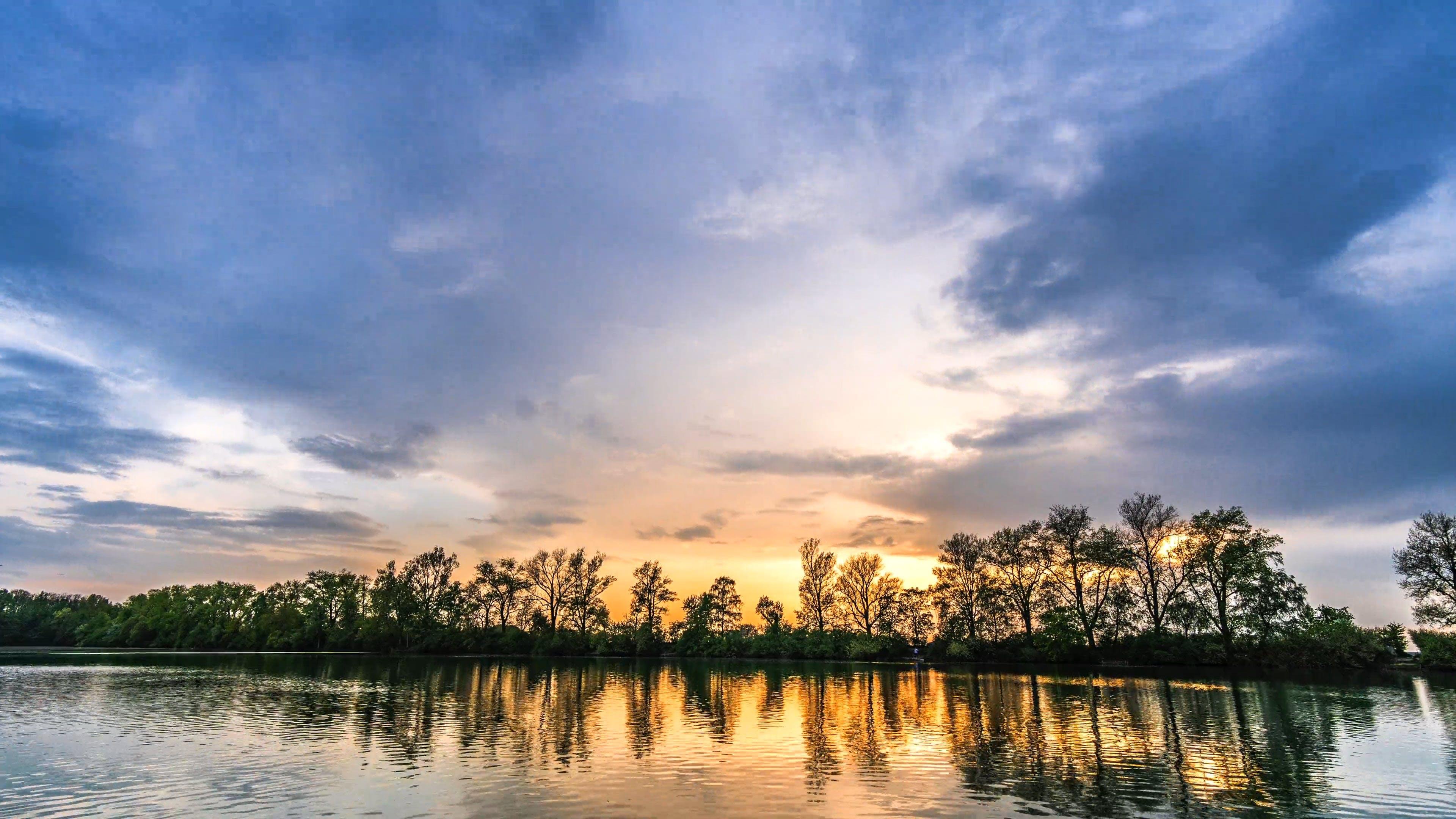 Beautiful Time Lapse Of Sunset