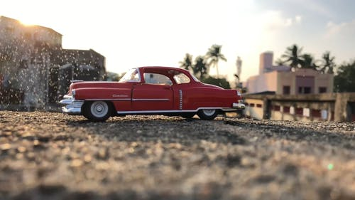 Miniature Red Toy Car
