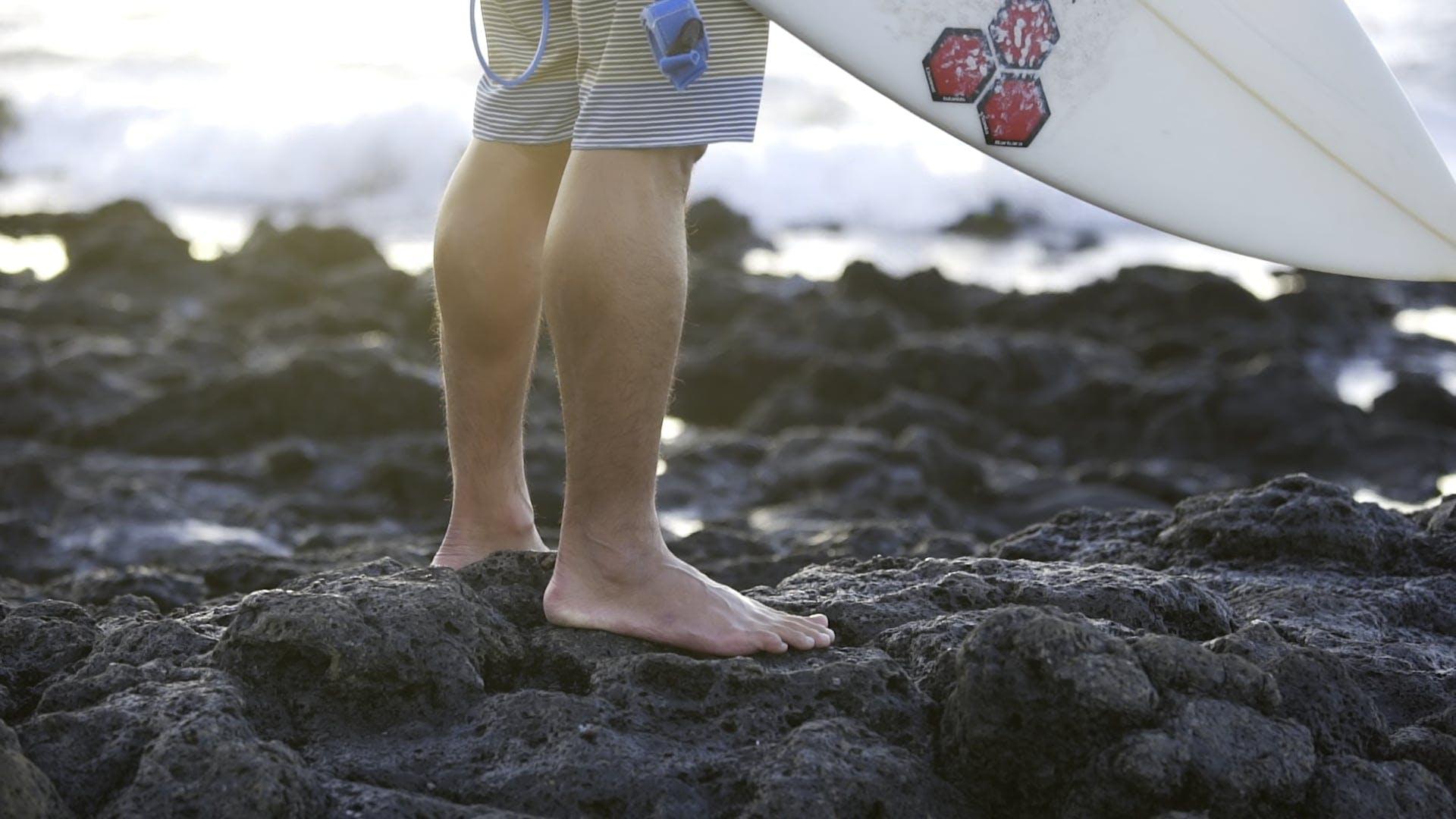 Barefoot Surfer