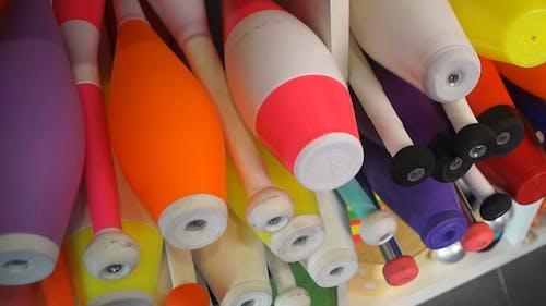 Set Of Colorful Juggles