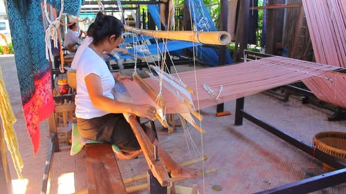Traditional Weaver Workers
