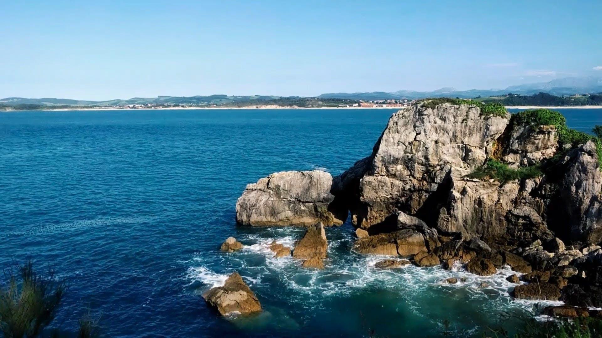 View Of Ocean Cliff
