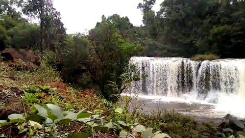Video Of Waterfalls On Time Lapse Mode