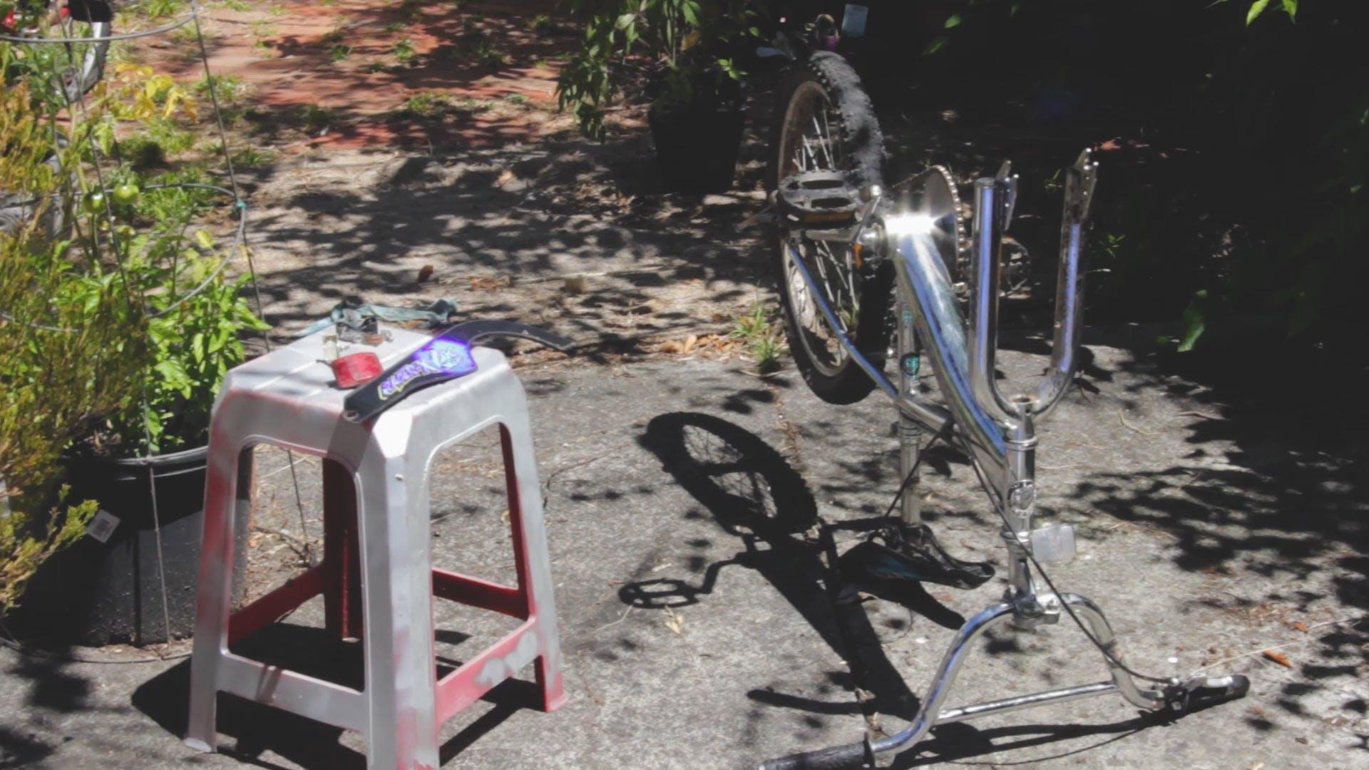 Repairing A Bike