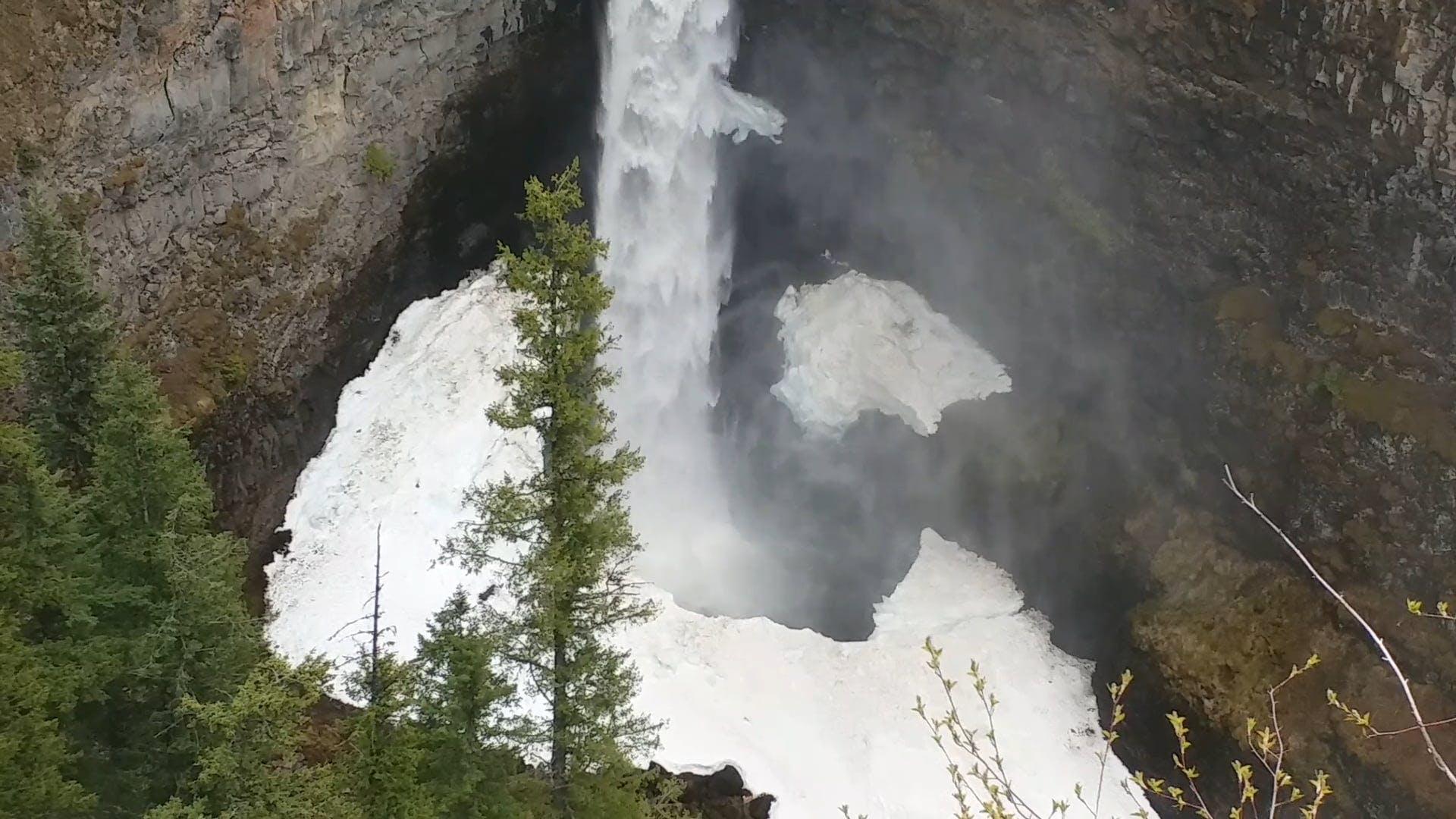 Video Of Frozen Waterfalls