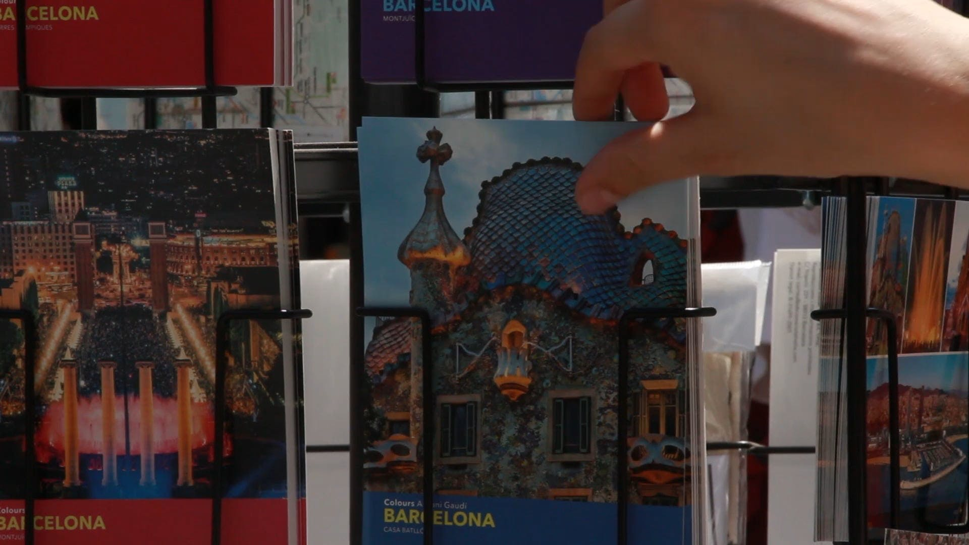 Video Of Postcards For Sale