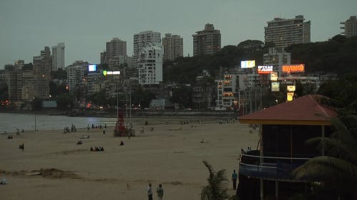 Buildings With Beach Front