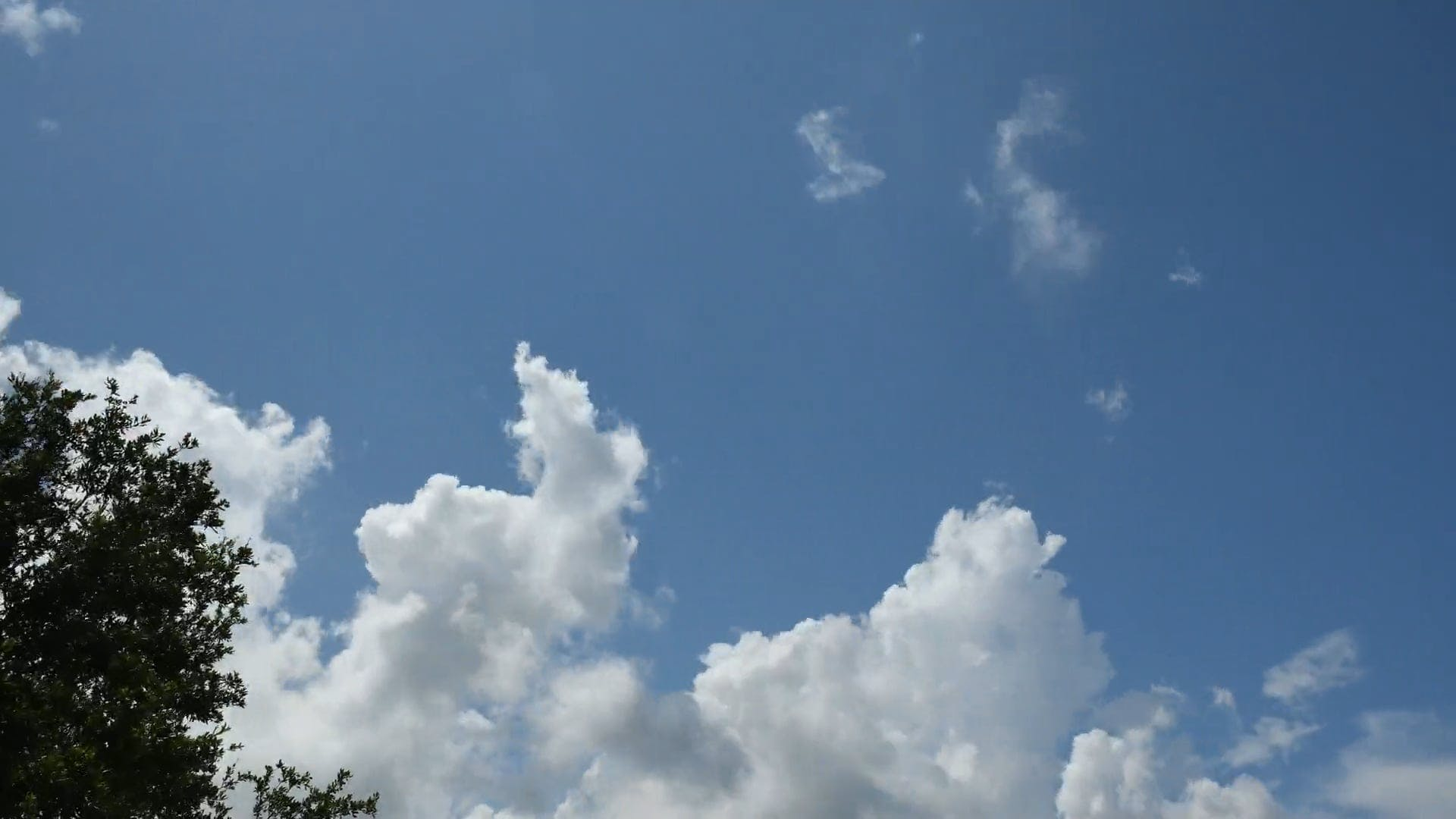 Time Lapse Video Of Clouds