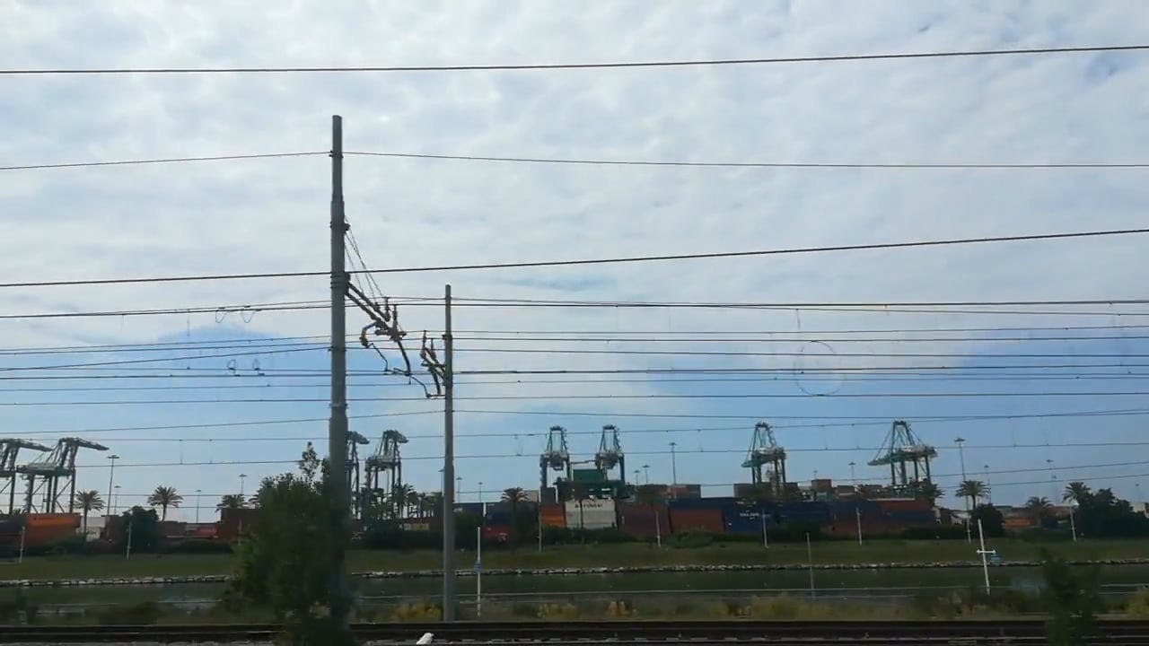 Video Of Train Traveling