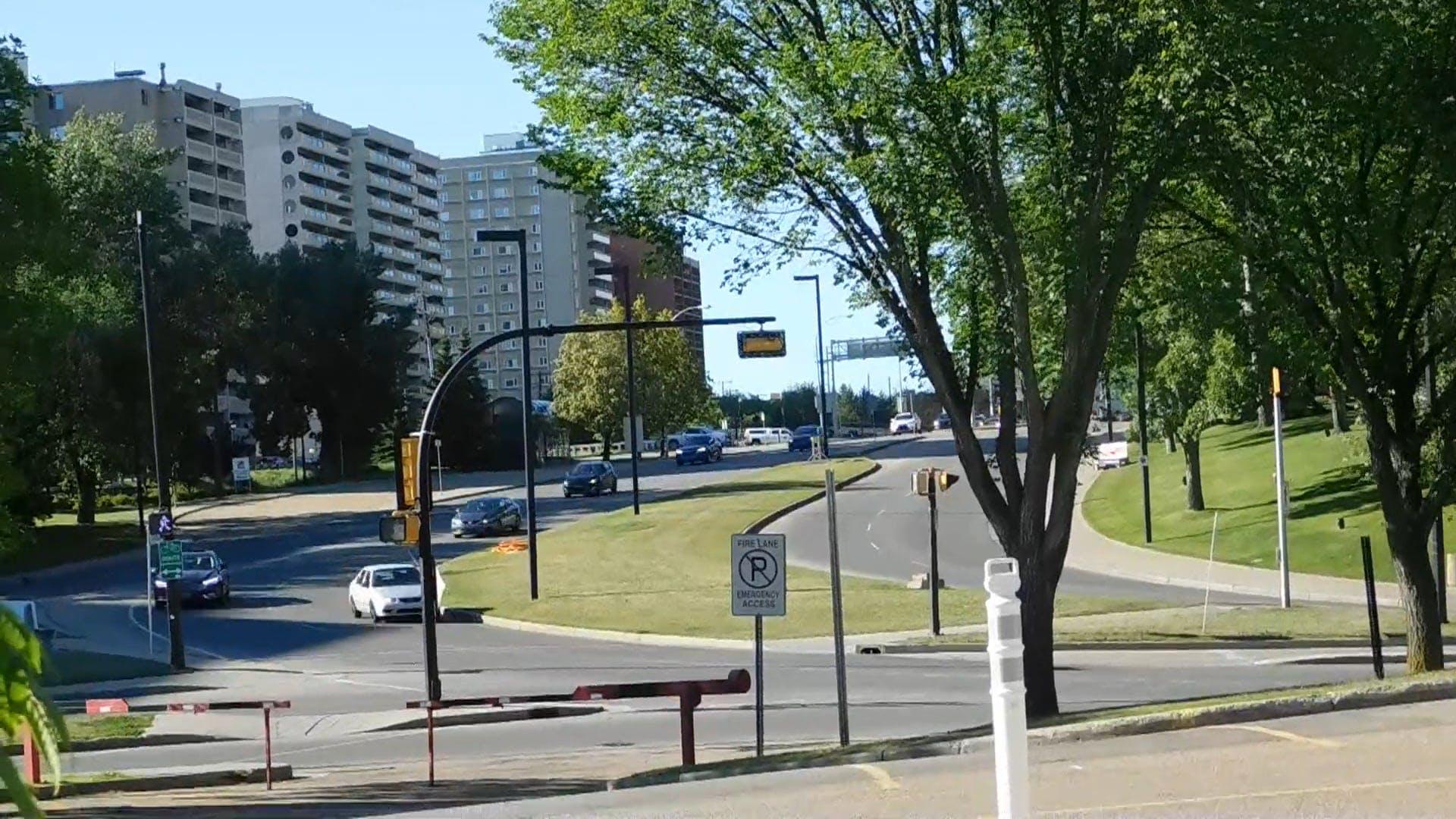 City Drive On Sunday