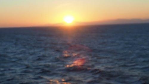 Sunset Above The Horizon