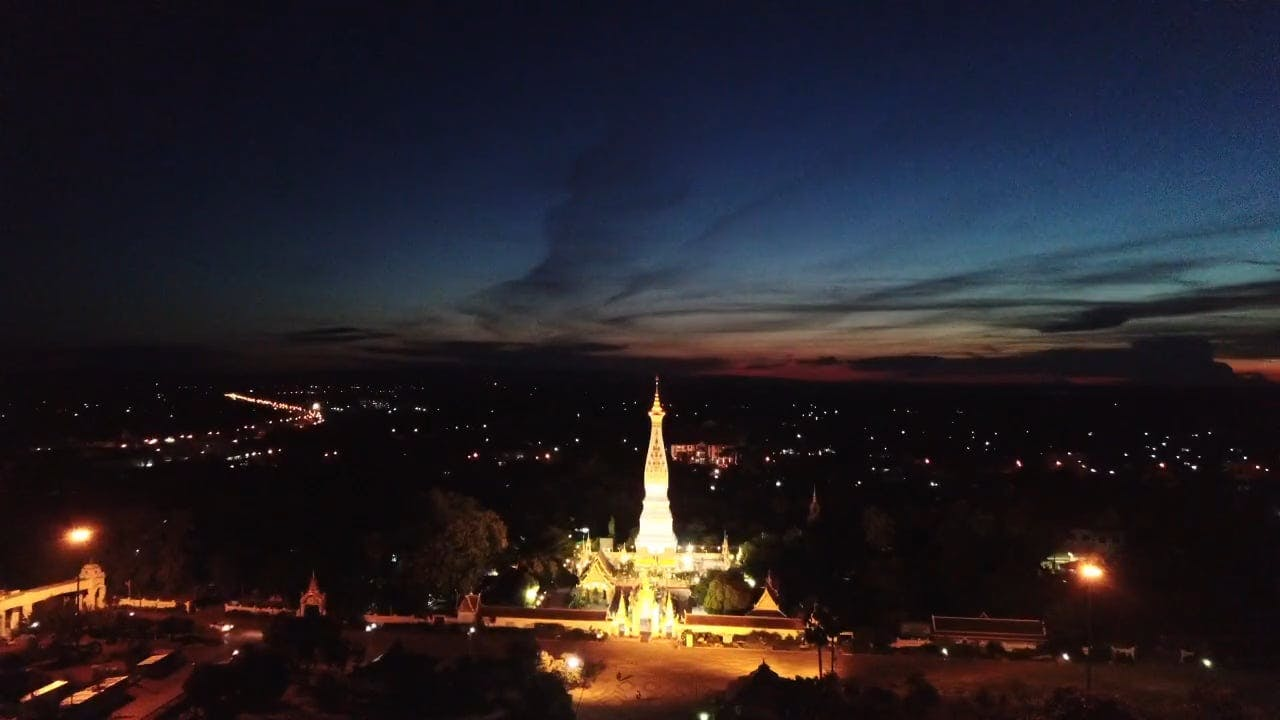 Illuminated Temples