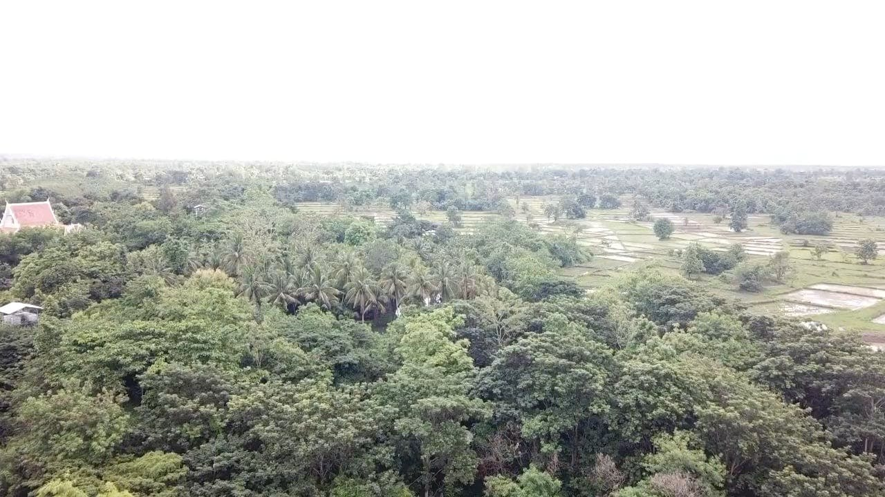 Aerial Footage Of Rural Area