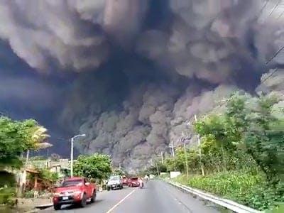 A Video Of An Eruption