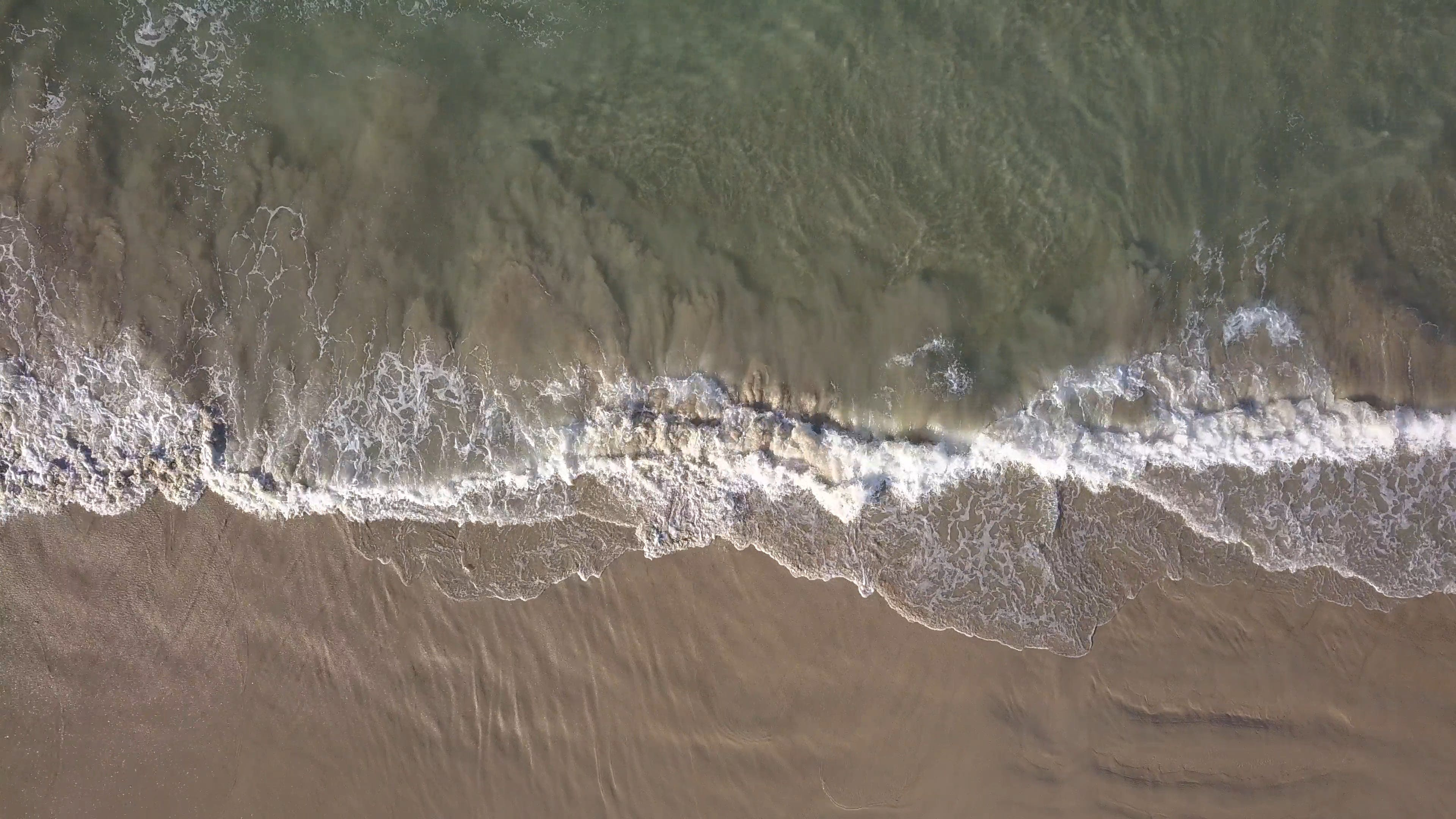 Waves Rushing To The Shore