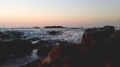 Sea Level View Of Horizon