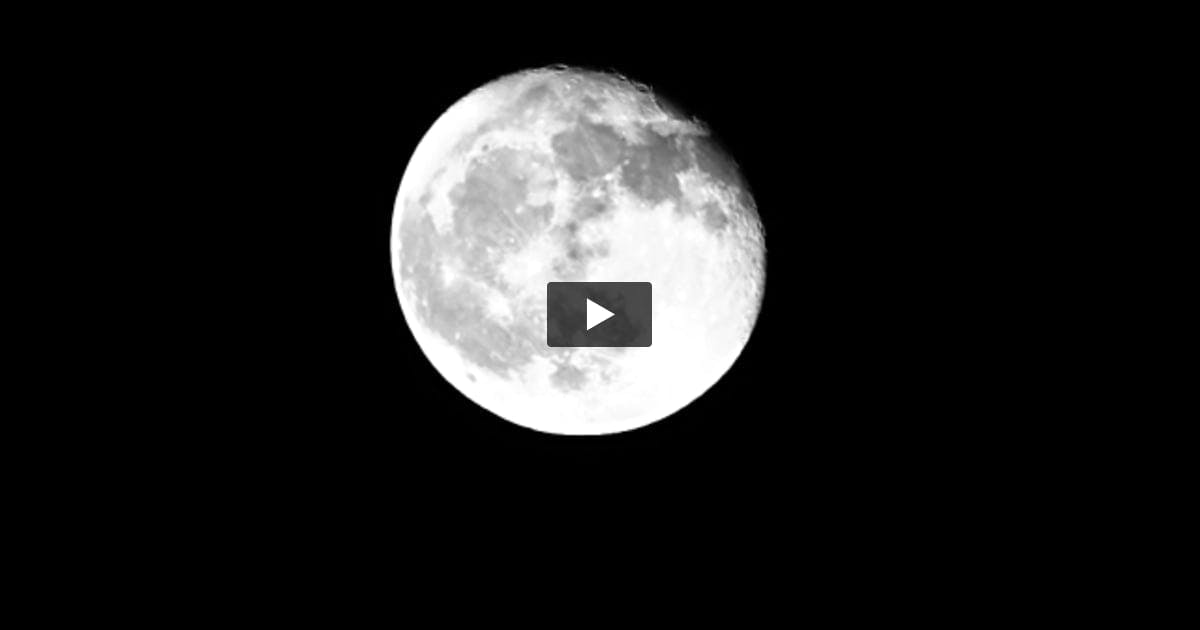 Video Footage Of Moon