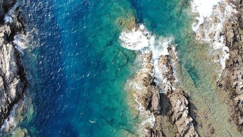 Drone Opnamen Van De Oceaan