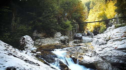 View Of A Beautiful River