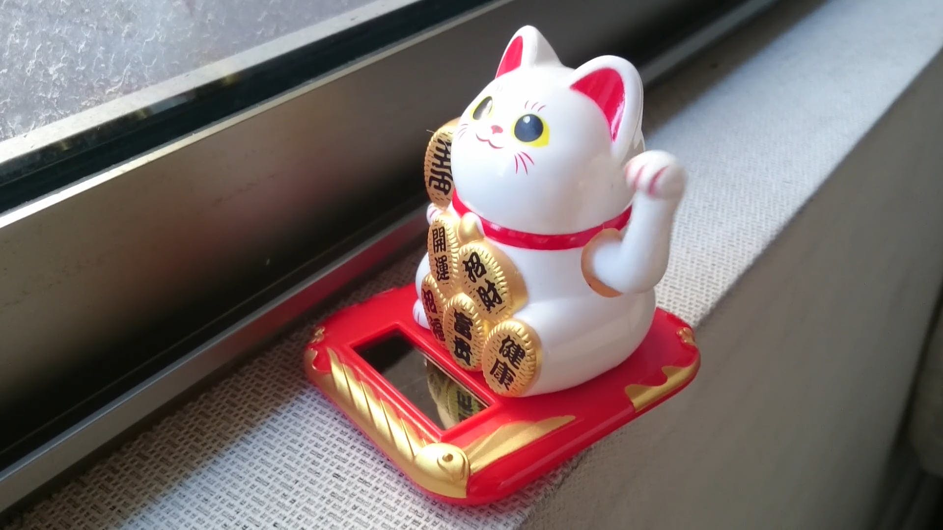 Cute Cat Lucky Charm