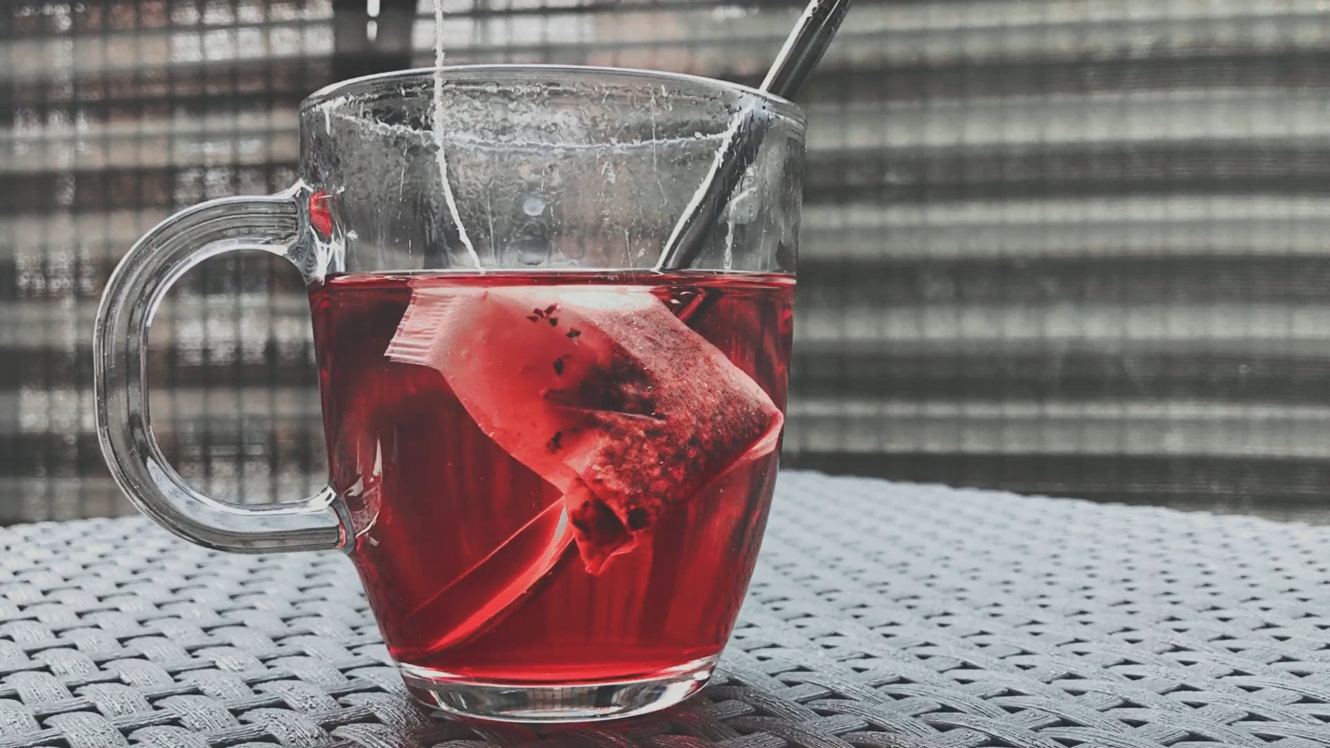 Healthy Red Tea Drink