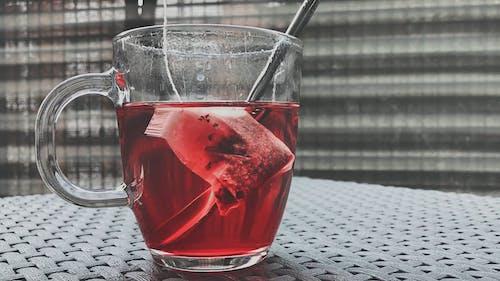 Healthy Red Tea Drink