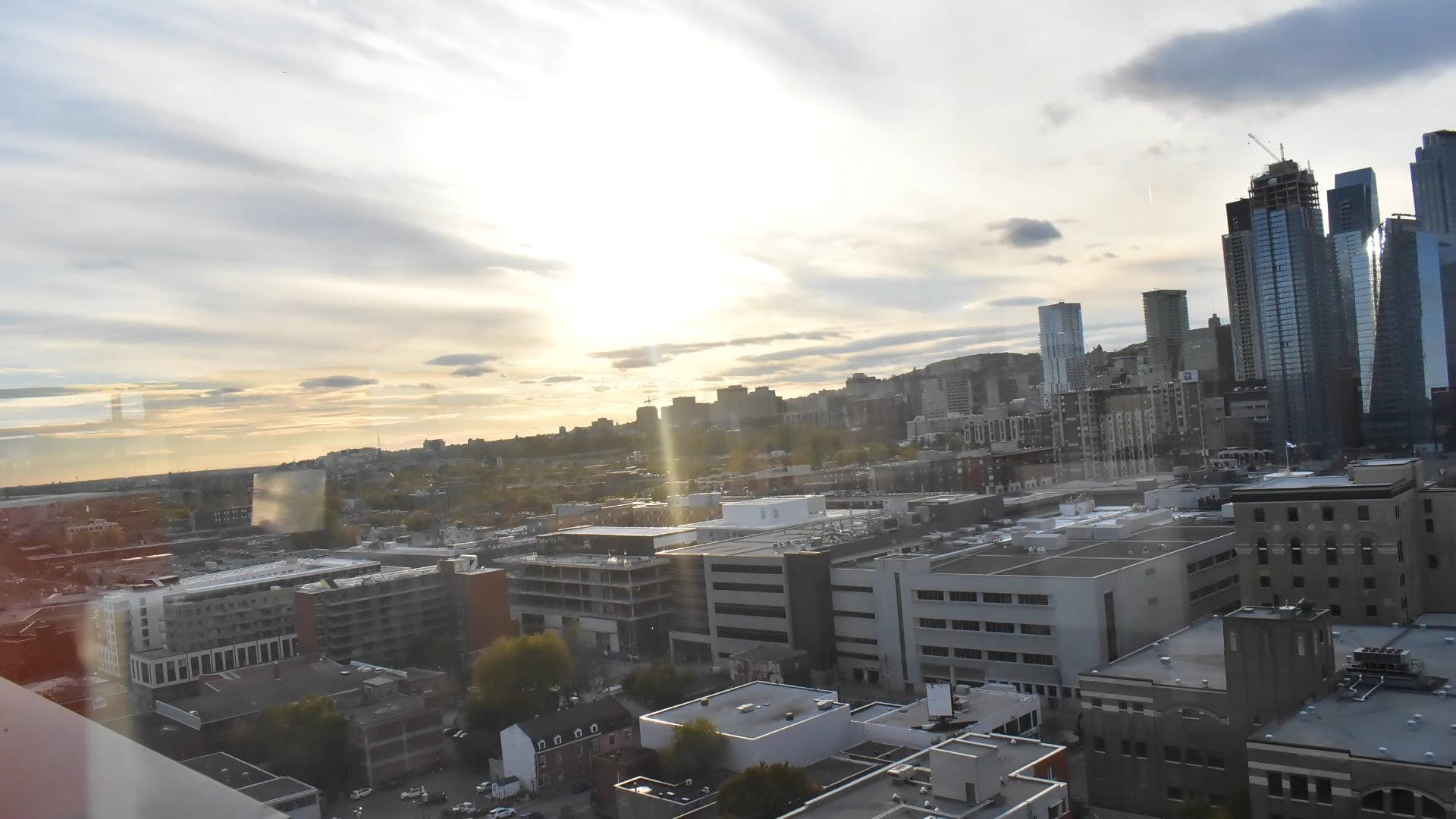 Time Lapse Video Of Sky Under City