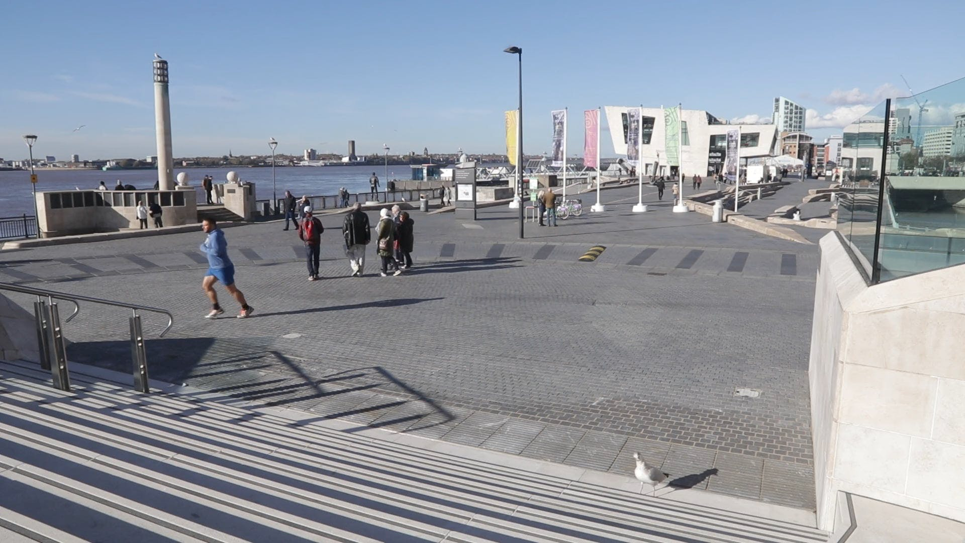 A Famous Port In Liverpool