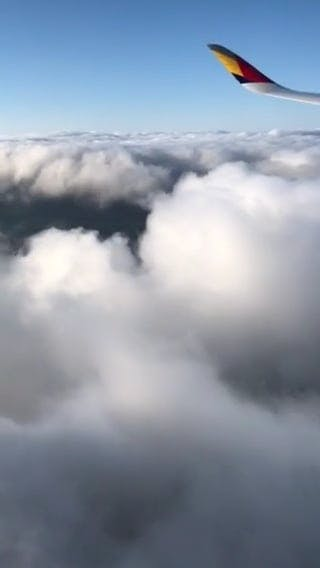 Aircraft Above Clouds