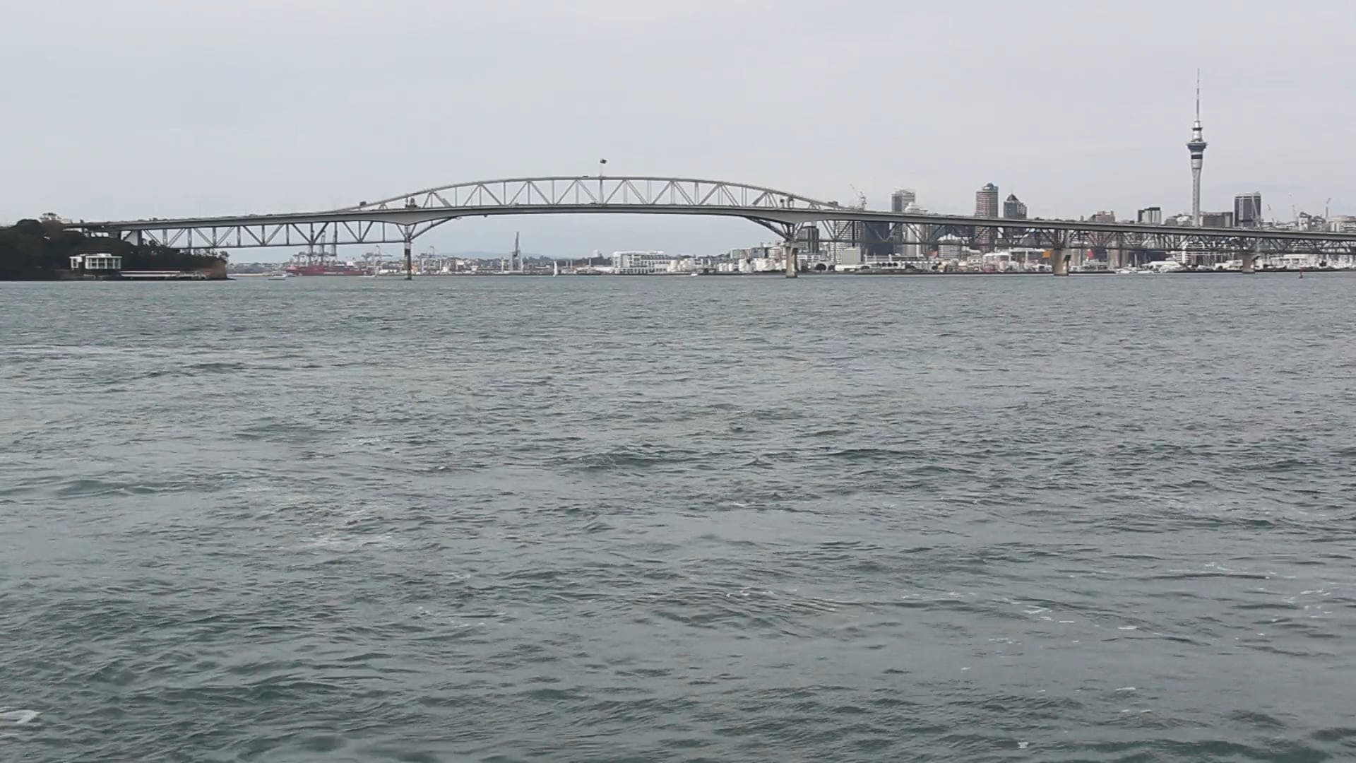 View Of The Bridge And The Sea
