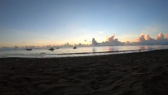 Time Lapse Of Sunrise At The Beach