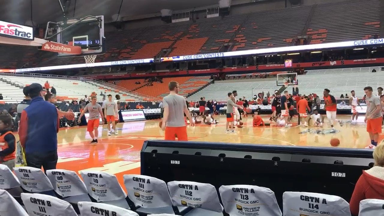 Basketball Players Having Their Practice