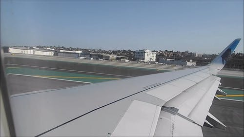 Take Off Of An Airplane