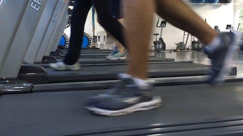 People Using Treadmill