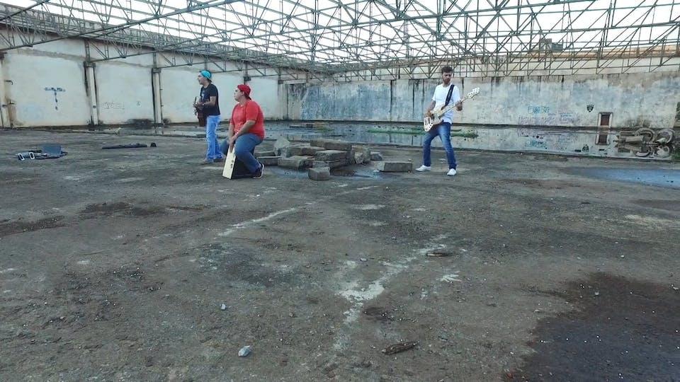 Three Artists Making A Video Shoot