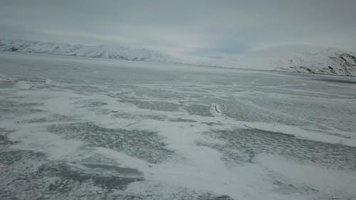 A Frozen Body Of Water