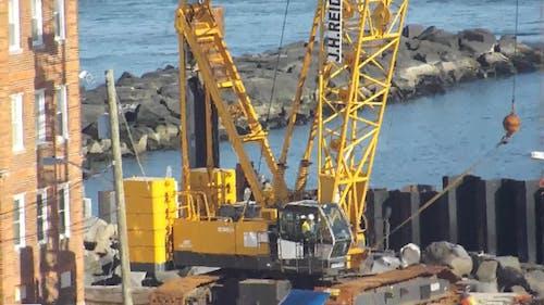 A Crane On A Construction Site