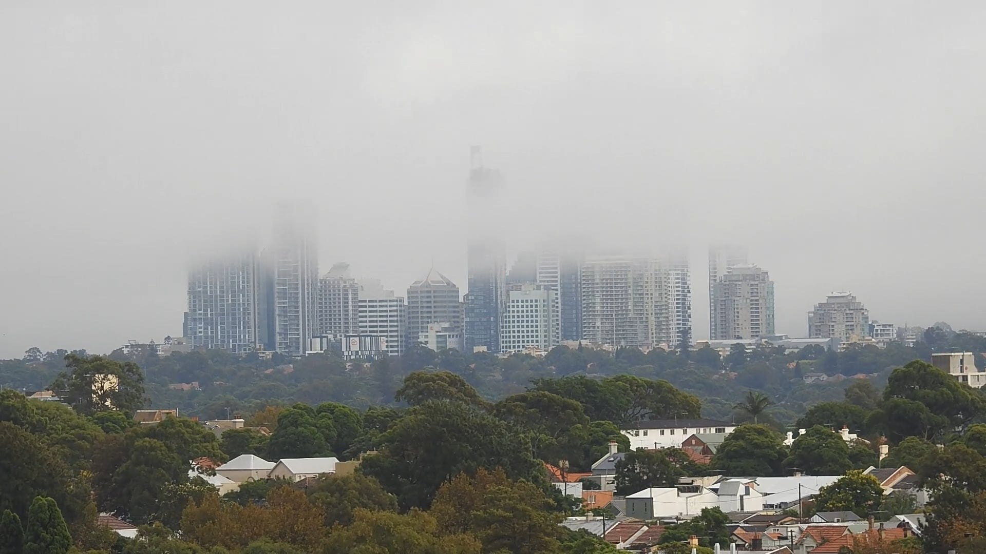 View Of High Rise Buildings