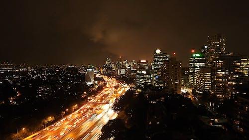 游戏中时光倒流模式下的城市风景