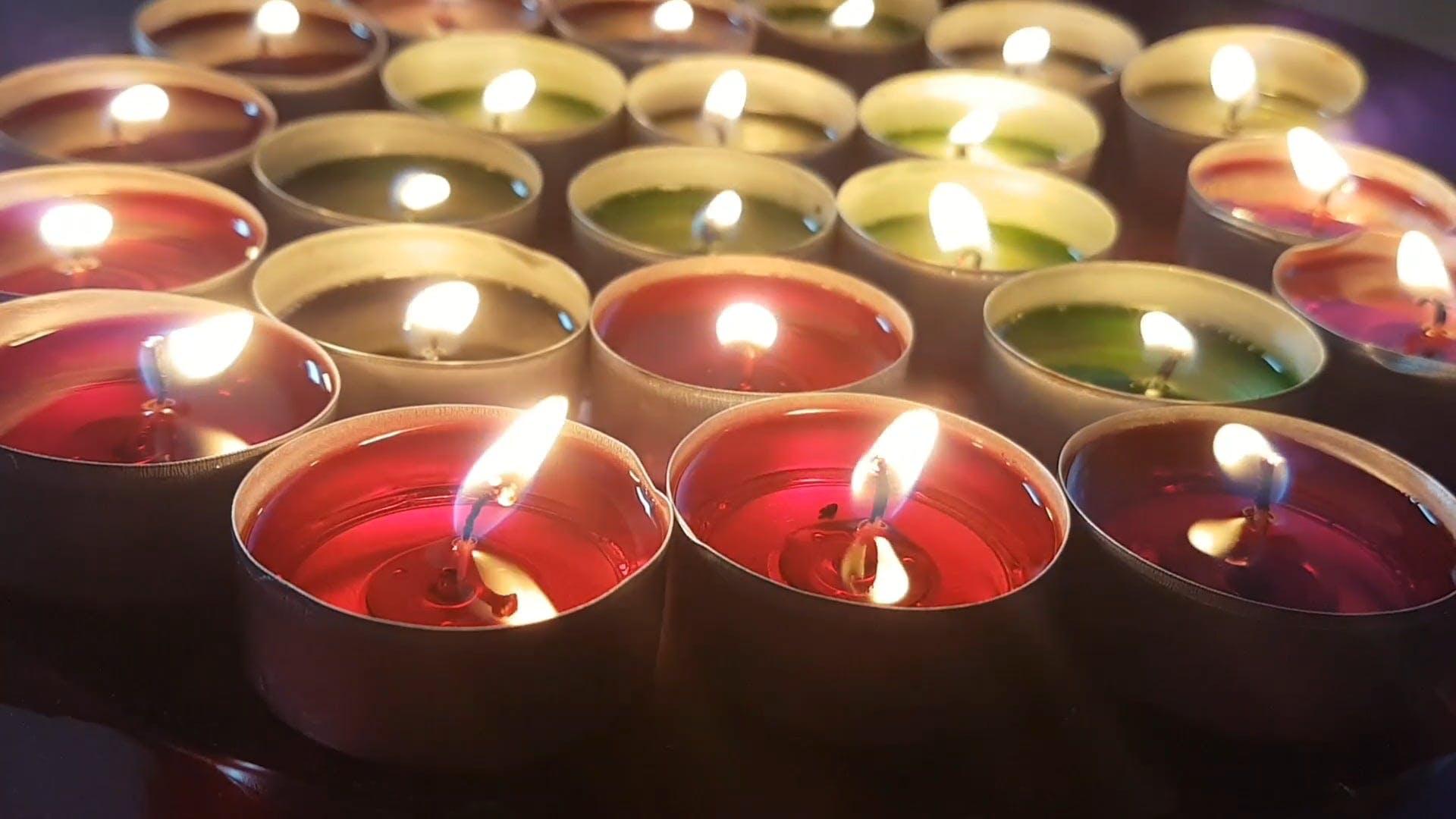 Aromatic Tea Candles